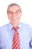 Verticale d'un homme aîné de sourire Photo stock