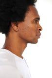 Verticale d'un homme d'afro-américain photo libre de droits