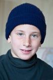 Verticale d'un jeune garçon Images libres de droits