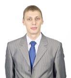 Verticale d'un jeune homme d'affaires confiant Images stock