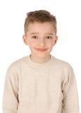 Verticale d'un sourire de garçon images stock