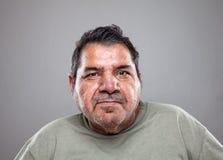 Verticale d'un vieil homme Photographie stock