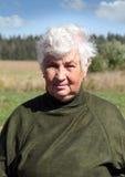 Verticale d'une agronome de femme Photo libre de droits