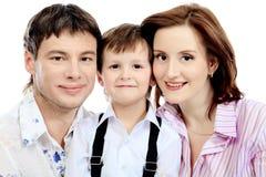 Verticale d'une famille Photo stock