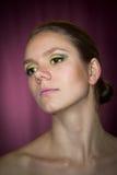 Verticale d'une femme Photographie stock libre de droits