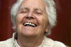 Verticale d'une femme aînée Photo stock