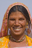 Verticale d'une femme indienne Image stock