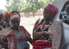 Verticale d'une fille africaine Photographie stock libre de droits