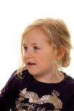 Verticale d'une fille. La tête de l'enfant. photographie stock