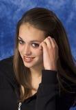 Verticale d'une jeune femme Image libre de droits