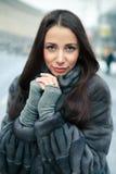 Portrait d'une jeune femme Image stock
