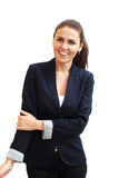 Portrait d'une jeune femme attirante d'affaires photo libre de droits