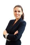 Portrait d'une jeune femme attirante d'affaires Photos libres de droits