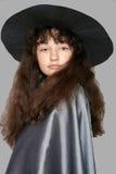 Verticale d'une jeune sorcière Photo libre de droits
