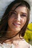 Verticale d'une mariée photo stock