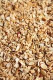 Verticale d'upclose de granola photo libre de droits