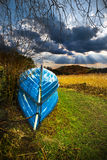 Verticale de bateaux de ligne Photo libre de droits