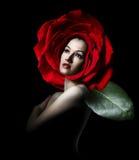 Verticale de beauté Photos libres de droits