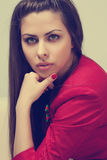 Verticale de beauté Photo stock