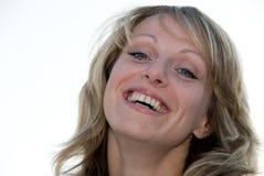 Verticale de belle femme Photographie stock libre de droits
