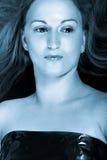 Verticale de belle femme blonde Photos stock