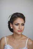 Verticale de belle mariée Photographie stock