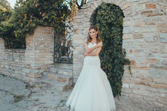 Verticale de belle mariée Images stock