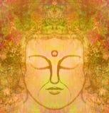 Verticale de Bouddha Photos libres de droits