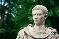 Verticale de Caligula - poitrine d'empereur Photo libre de droits