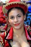 Verticale de carnaval Images libres de droits