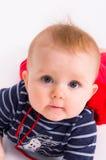Verticale de chéri de petit enfant Image libre de droits