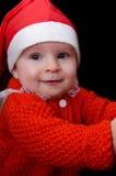 Verticale de chéri Santa Photo libre de droits