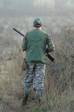 Verticale de chasseur Photo libre de droits