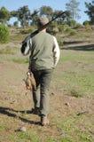 Verticale de chasseur Photographie stock libre de droits