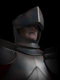 Verticale de chevalier marquée par bataille Photo libre de droits