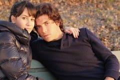 Verticale de couples Photographie stock libre de droits