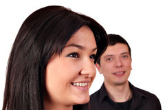 Verticale de couples Image libre de droits