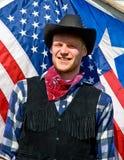 Verticale de cowboy Photos stock