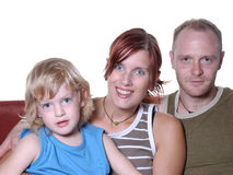 Verticale de famille image stock