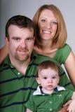 Verticale de famille. Photos libres de droits