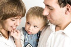 Portrait de famille photographie stock libre de droits