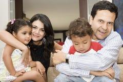 verticale de famille Photo stock