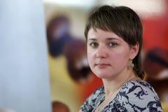 Verticale de femme Photos libres de droits