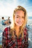 Verticale de femme blonde photo libre de droits
