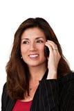 Verticale de femme d'affaires assez mûre Images stock