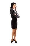 Verticale de femme d'affaires intégrale Photo stock