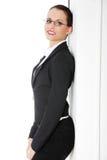 Verticale de femme d'affaires réussie Photographie stock libre de droits