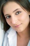 Verticale de femme de beauté Photos libres de droits