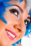 Verticale de femme de charme Photos stock