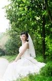 Verticale de femme de mariage images libres de droits